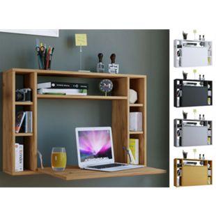 VCM Wandschreibtisch Wandtisch Schreibtisch Wandregal Bürotisch Wandila - Bild 1