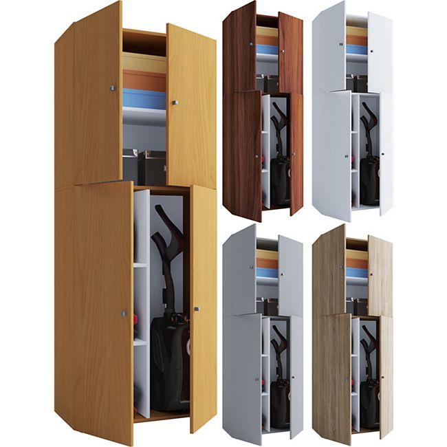vcm staubsauger besenschrank mehrzweckschrank putzschrank lona online kaufen netto. Black Bedroom Furniture Sets. Home Design Ideas