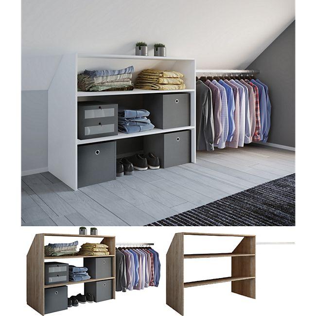 VCM - my home Kleiderschrank Wandständer Dachschräge Kleider Regal  Garderobe \