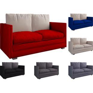 """VCM 2er Schlafsofa Sofabett Couch Sofa mit Schlaffunktion """"Ondal"""" - Bild 1"""