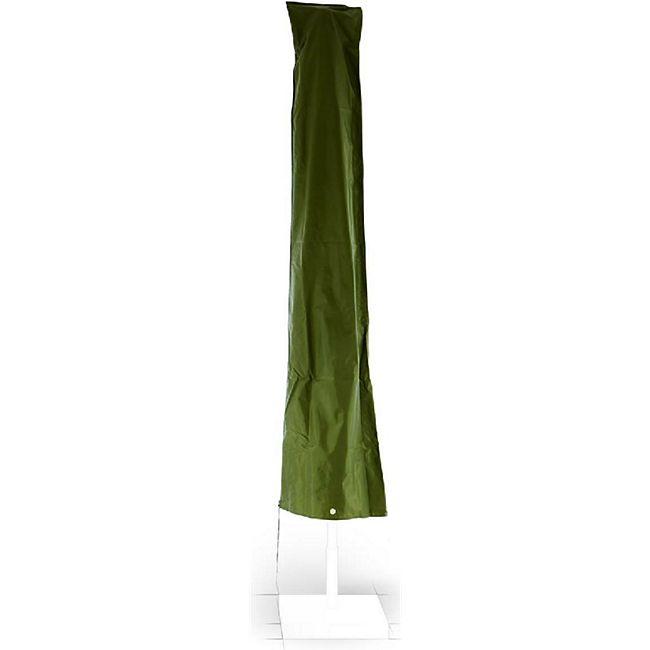 VCM Schutzhülle Sonnenschirm Ø 4m Reißverschluss Grün Wetterschutz Polyester 2,30m - Bild 1