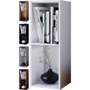 VCM Regal Standregal Bücherregal Möbel Holz Mendas 2fach - Bild 1