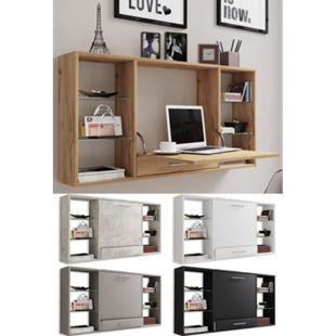 VCM Wandschreibtisch Wandtisch Schreibtisch Wandregal Bürotisch Teala - Bild 1