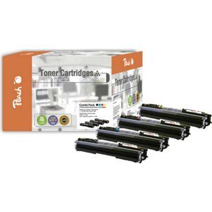 Peach Spar Pack Tonermodule kompatibel zu HP No. 126A (wiederaufbereitet) - Bild 1