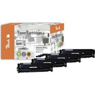Peach Spar Pack Tonermodule kompatibel zu HP No. 305A (wiederaufbereitet) - Bild 1