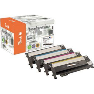 Peach Spar Pack Tonermodule kompatibel zu Samsung CLT-406S-series (wiederaufbereitet) - Bild 1
