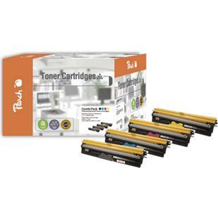 Peach Spar Pack Tonermodule kompatibel zu Konica Minolta A0V30-series (wiederaufbereitet) - Bild 1