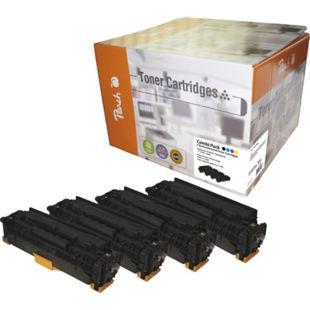 Peach Spar Pack Tonermodule kompatibel zu HP No. 312 (wiederaufbereitet) - Bild 1