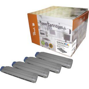 Peach Spar Pack Tonermodule kompatibel zu OKI 4332xxxx (wiederaufbereitet) - Bild 1