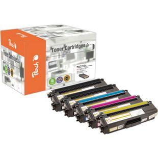 Peach Spar Pack Plus Tonermodule kompatibel zu Brother TN-325 (wiederaufbereitet) - Bild 1