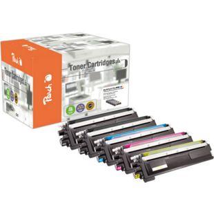 Peach Spar Pack Plus Tonermodule kompatibel zu Brother TN-230 (wiederaufbereitet) - Bild 1