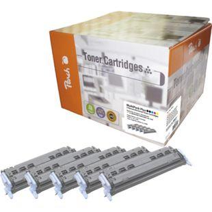 Peach Spar Pack Plus Tonermodule kompatibel zu HP No. 124A (wiederaufbereitet) - Bild 1