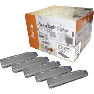 Peach Spar Pack Plus Tonermodule kompatibel zu OKI 4332xxxx (wiederaufbereitet) - Bild 1