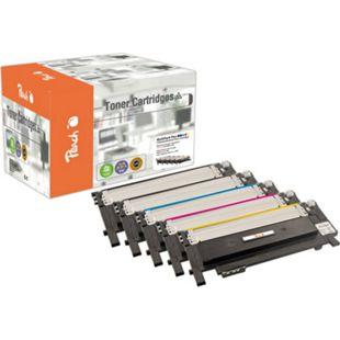 Peach Spar Pack Plus Tonermodule kompatibel zu Samsung CLT-406S (wiederaufbereitet) - Bild 1