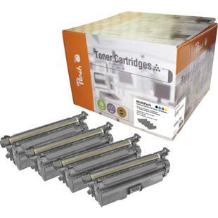 Peach Spar Pack Tonermodule kompatibel zu HP No. 647, No. 648 (wiederaufbereitet) - Bild 1