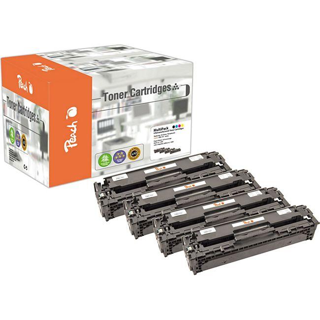 Peach Spar Pack Tonermodule kompatibel zu Canon CRG-731 series (wiederaufbereitet) - Bild 1