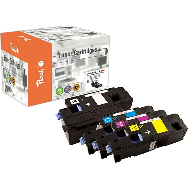 Peach Spar Pack Tonermodule kompatibel zu Epson C13S050611-4 (wiederaufbereitet) - Bild 1