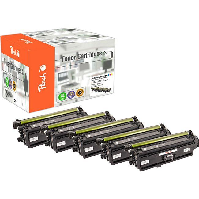 Peach Spar Pack Plus Tonermodule kompatibel zu HP No. 508X (wiederaufbereitet) - Bild 1