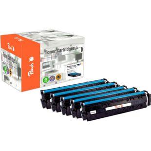 Peach Spar Pack Plus Tonermodule kompatibel zu HP No. 203A (wiederaufbereitet) - Bild 1