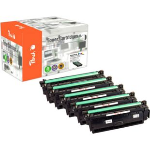 Peach Spar Pack Plus Tonermodule kompatibel zu Canon CRG-040H (wiederaufbereitet) - Bild 1