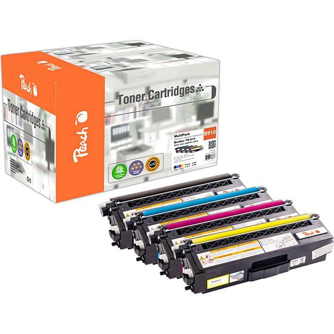 Peach Spar Pack Tonermodule kompatibel zu Brother TN-910 (wiederaufbereitet) - Bild 1