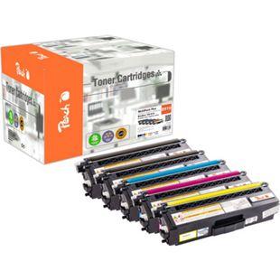 Peach Spar Pack Plus Tonermodule kompatibel zu Brother TN-910 (wiederaufbereitet) - Bild 1
