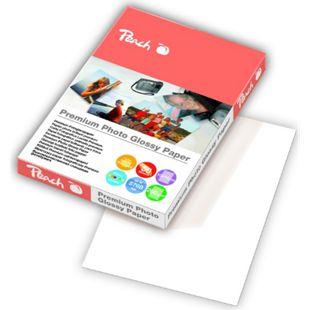 Peach Premium Photo Glossy Papier 10x15cm 260 g/m2, 50 Blatt - Bild 1