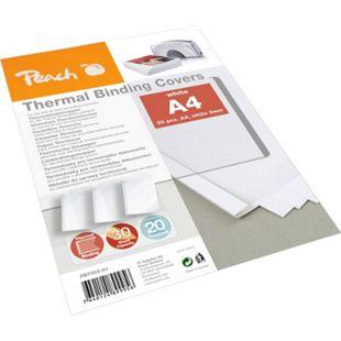 Peach Thermobindemappe weiss für 30 Blätter (A4, 80g/m2), 20 Stück - PBT303-01 - Bild 1