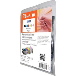 Peach Spar Pack Plus Tintenpatronen kompatibel zu Epson T0808 (2x T0801, T0802, T0803, T0804, T0805, T0806) - Bild 1