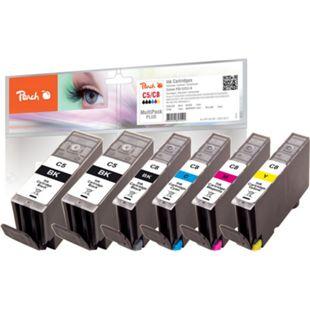 Peach Spar Pack Plus Tintenpatronen kompatibel zu Canon CLI-8, 2xPGI-5 - Bild 1