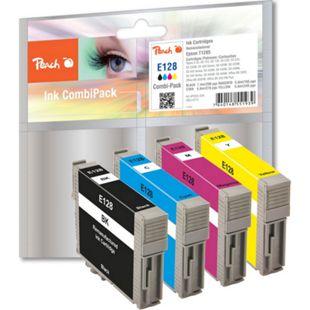 Peach Spar Pack Tintenpatronen kompatibel zu Epson T1285 (wiederaufbereitet) - Bild 1