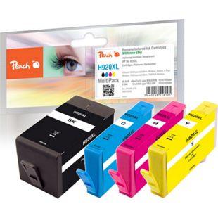 Peach Spar Pack Tintenpatronen kompatibel zu HP No. 920XL (wiederaufbereitet) - Bild 1