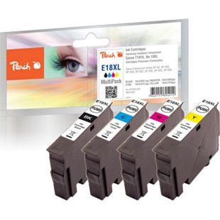 Peach Spar Pack Tintenpatronen kompatibel zu Epson No. 18XL, T1816 - Bild 1