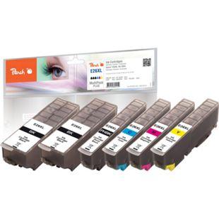 Peach Spar Pack Plus Tintenpatronen HY kompatibel zu Epson No. 26XL, T263 - Bild 1