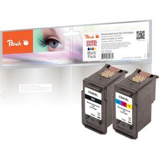 Peach Spar Pack Druckköpfe kompatibel zu Canon PG-540XLBK, CL-541XLC, 5222B005, 5226B004 (wiederaufbereitet) - Bild 1