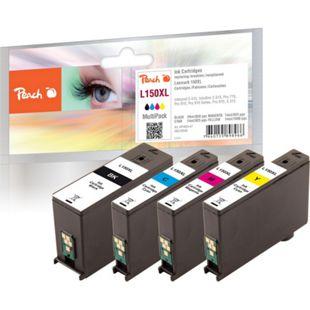 Peach Spar Pack Tintenpatronen, XL-Ergiebigkeit, kompatibel zu Lexmark No. 150XL - Bild 1