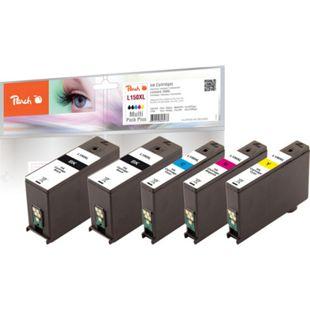 Peach Spar Plus Pack Tintenpatronen, XL-Ergiebigkeit, kompatibel zu Lexmark No. 150XL - Bild 1