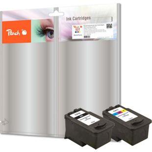 Peach Spar Pack Druckköpfe kompatibel zu Canon PG-510, CL-511 (wiederaufbereitet) - Bild 1