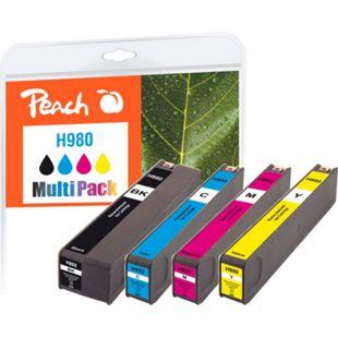 Peach Spar Pack Tintenpatronen kompatibel zu HP No. 980 (wiederaufbereitet) - Bild 1