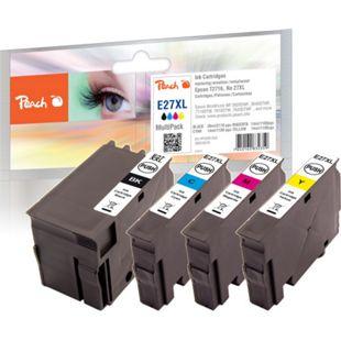 Peach Spar Pack Tintenpatronen kompatibel zu Epson No. 27XL - Bild 1