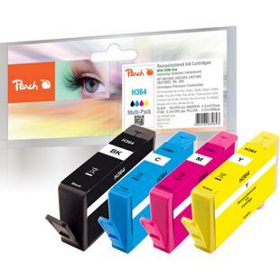 Peach Spar Pack Tintenpatronen kompatibel zu HP No. 364 (wiederaufbereitet) - Bild 1
