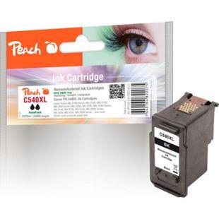 Peach Doppelpack Tintenpatronen schwarz kompatibel zu Canon PG-540XL (wiederaufbereitet) - Bild 1