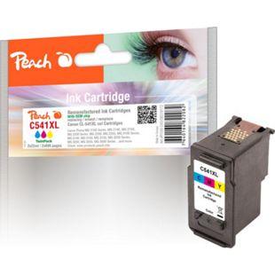 Peach Doppelpack Druckköpfe color kompatibel zu Canon CL-541XL (wiederaufbereitet) - Bild 1