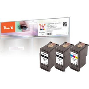 Peach Spar Pack Plus Druckköpfe kompatibel zu Canon PG-540XL, CL-541XL (wiederaufbereitet) - Bild 1