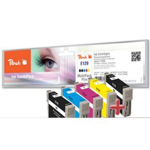 Peach Spar Pack Plus Tintenpatronen kompatibel zu Epson T1295, T1291, C13T12954010 (wiederaufbereitet) - Bild 1