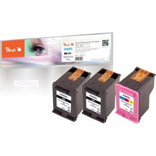 Peach Spar Pack Plus Druckköpfe kompatibel zu HP No. 300XL black, CC641EE, No. 300XL color, CC644EE (wiederaufbereitet) - Bild 1
