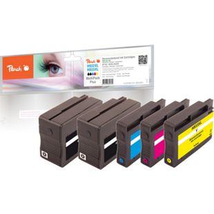 Peach Spar Pack Plus Tintenpatronen kompatibel zu HP No. 932XL, No. 933XL (wiederaufbereitet) - Bild 1