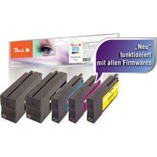 Peach Spar Pack Plus Tintenpatronen kompatibel zu HP No. 950XL, No. 951XL (wiederaufbereitet) - Bild 1