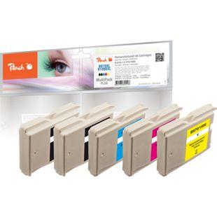 Peach Spar Pack Plus Tintenpatronen, XL-Füllung, kompatibel zu Brother  LC-1000, LC-970 (wiederaufbereitet) - Bild 1
