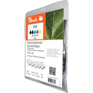 Peach Spar Pack Plus Tintenpatronen kompatibel zu HP No. 88 (wiederaufbereitet) - Bild 1